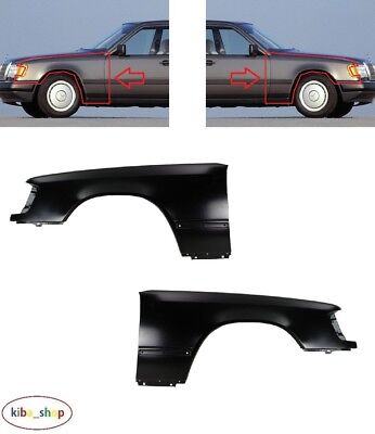 NEW MERCEDES E CLASS W210 1999-2003 FRONT WING FENDER WITHOUT FLASHER HOLE LEFT