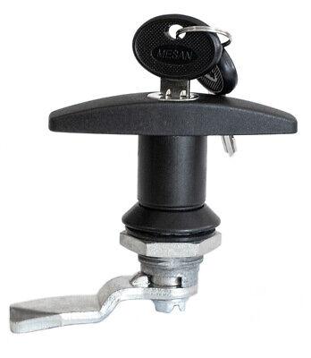 T Handle Cam Lock Polyamide Black Coated Quarter Turn Part 110.2.0.01.42