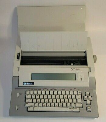 Smith Corona Pwp 57d Personal Word Processor Electronic Typewriter Works Great