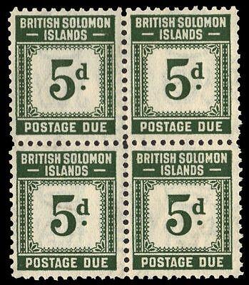 "SOLOMON ISLANDS J5 (SG D5) - Numeral of Value ""Postage Due"" (pa30252)"
