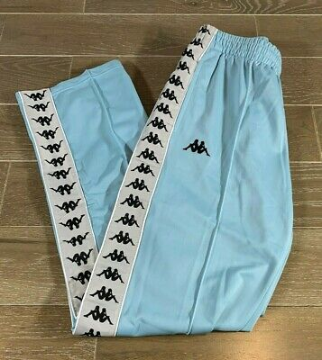 Brand New w. Tags KAPPA 222 BANDA Pants Size:Large Color:Azure/Grey Silver