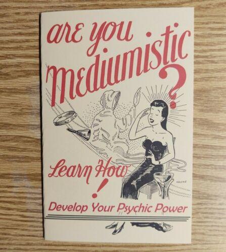 Are You Mediumistic? by Korda RaMayne (Robert A. Nelson)