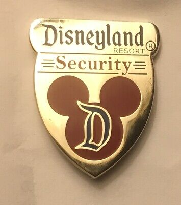 Disney Disneyland DLR - Cast Member Security Shield Pin 77030