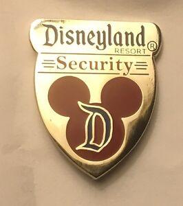 Disneyland Disney DLR Cast Security Emergency Services Badge Pin