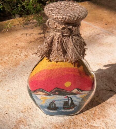 Hand Made Sand Art  Colored , Bottle Sand, Camel, names, souvener