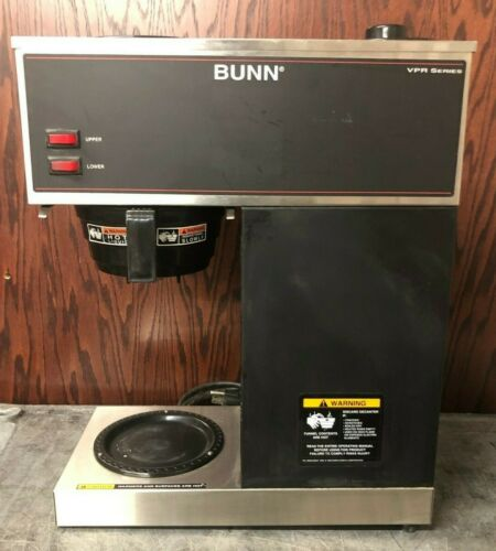 Bunn Coffee Maker VPR Series With Upper And Lower Heating