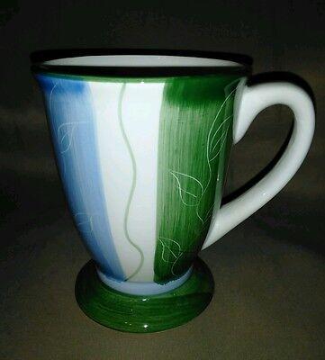 Designer Mug Green Blue