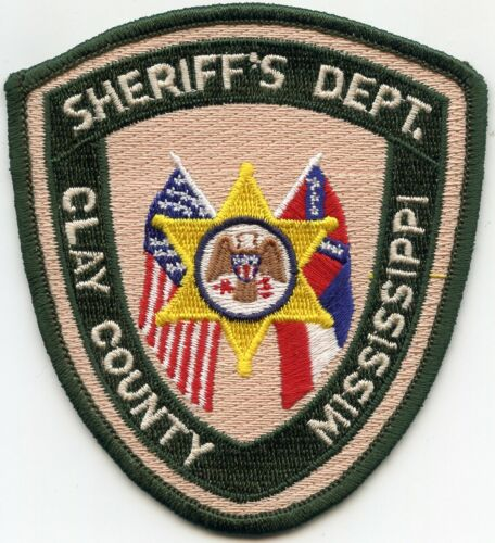 CLAY COUNTY MISSISSIPPI MS SHERIFF POLICE PATCH