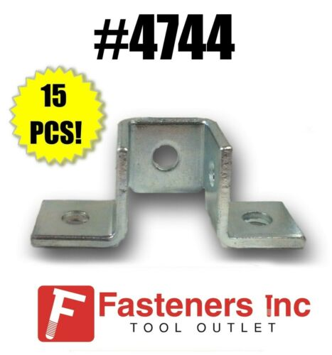QTY 15) 5-Hole Double Corner Wing Fitting Unistrut B-Line Channel #4744 P2345