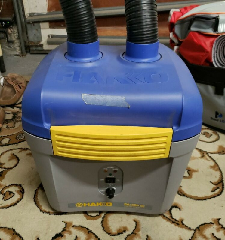 Hakko FA-430 - Fume Extractor - Smoke Absorber with Duct and Rectangular Nozzle