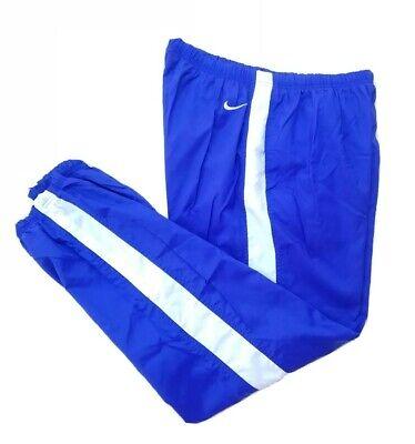 Vtg 90s Nike Nylon Shell Reversible Windbreaker Track Pants Size XL