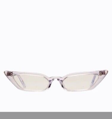 Poppy Lissiman Le Skinny Clear Glasses