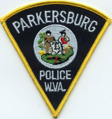 PARKERSBURG WEST VIRGINIA WV Colorful State Seal POLICE PATCH