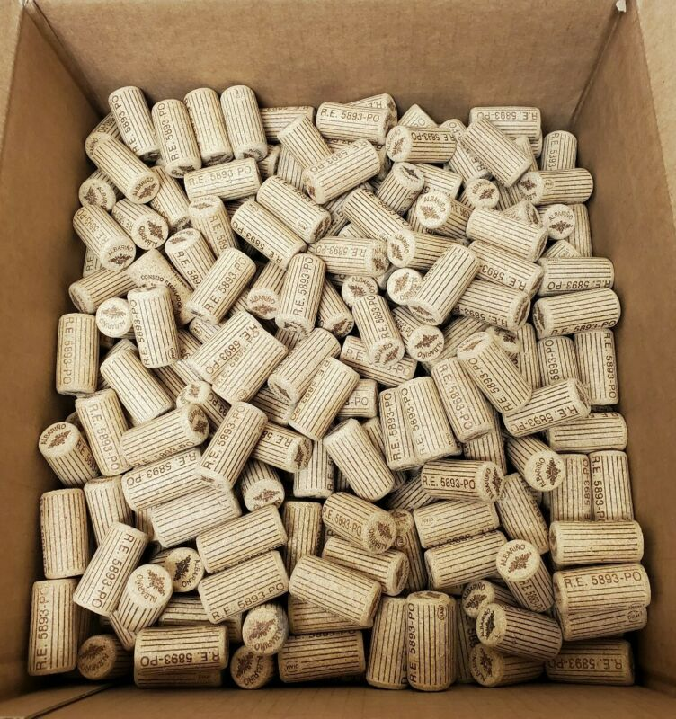 250 All Natural Used Corks Albarino