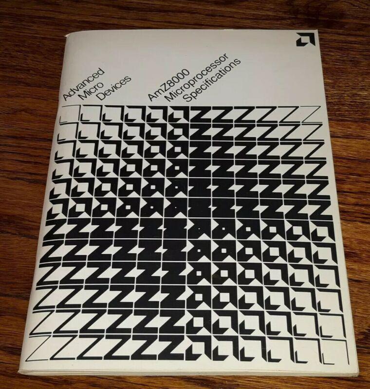 Advanced Micro Devices AMD AmZ8000 Manual 1978 microprocessor specification book