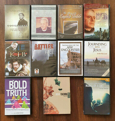 13 Christian DVDs Richard Wurmbrand, Francis Chan, Mark Bird, Jermain Thomas etc