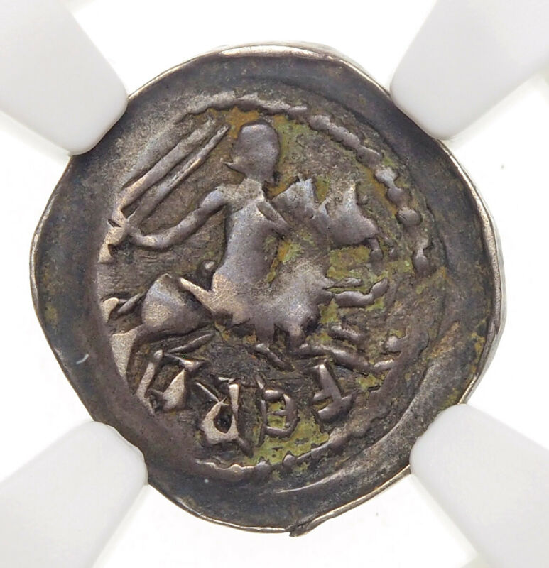 FRANCE, Lorraine. Ferri III, 1251-1303, Silver Denier, NGC VF35