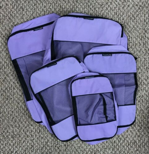 TRAVELWISE Packing Cube System Purple Set of 5