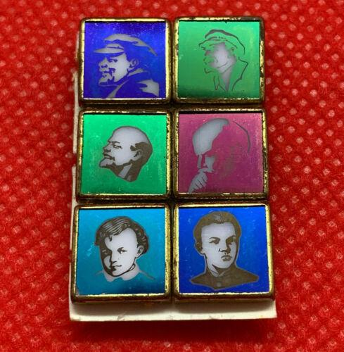 Rare Vladimir Ilyich LENIN Ulyanov childhood vintage pin Communism