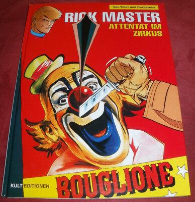 Rick Master - Band 25: Attentat im Zirkus, Tibet, Duchateau, Kult Editionen