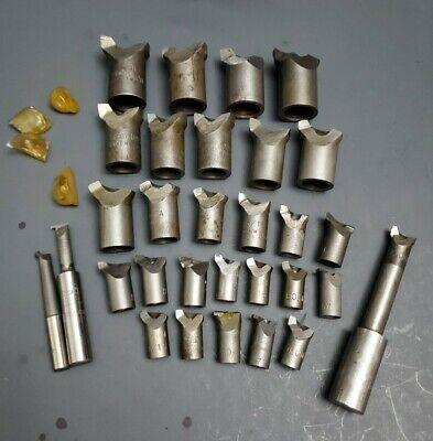 31pc Bokum Usa Boring Bar Head Interchangeable Grooving Tool Machinist Jig Bore