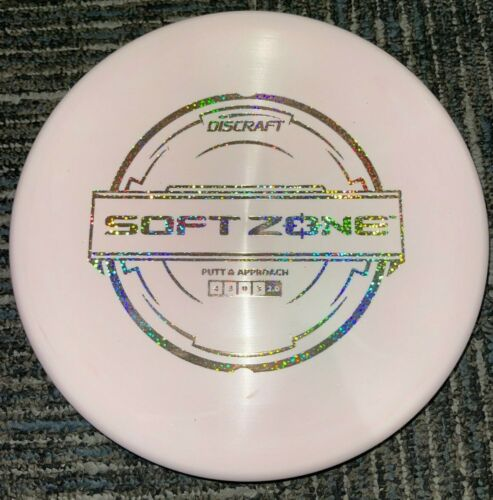 DISCRAFT SOFT ZONE DISC GOLF PUTT & APPROACH DISC GOLF 173-4G PK/SS @ LSDISCS