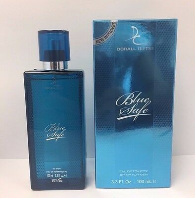 Impression of Davidoff Cool Water, Blue Safe by Dorall 3.3 oz EDT for men NIB