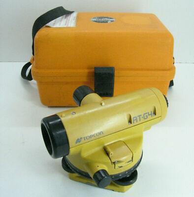 Topcon At-g4 Automatic Level For Surveying With 1 Month Warranty