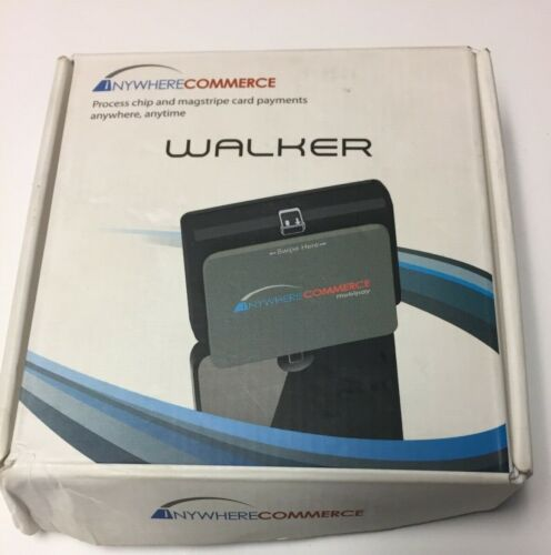 AnywhereCommerce Walker EMV Credit Card Reader Swiper for iPhone / Android Phone
