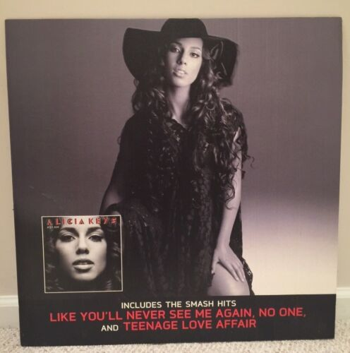 Alicia Keys As I Am Limited Edition Cardboard Promo Poster 24x24