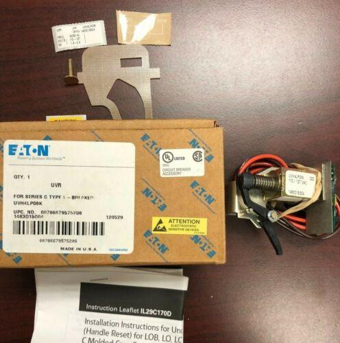 EATON/Cutler Hammer UVH4LP08K UVR 110-127VAC Undervoltage Release for LD/HLD