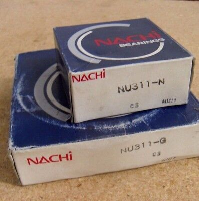 Nachi Nu311 C3 Cylindrical Roller Bearing