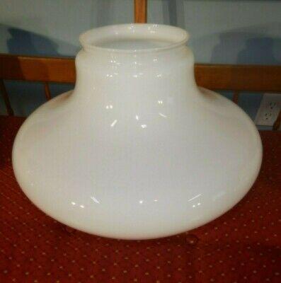 "Large 16/"" Diameter Milk Glass School House Light Globe Shade 6/"" fitter 10/"" Tall"