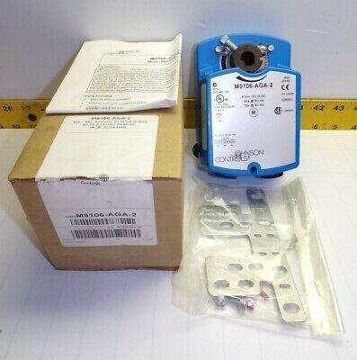 New Johnson Controls Electric Non-spring Return Actuator M9106-aga-2