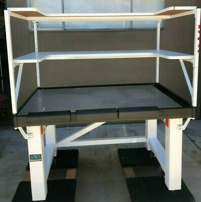 Newport Sg-30x48-2 Vh3048w-opt Isolation Table With Top Shelfs