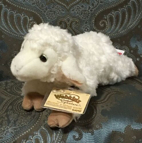 Webkinz Signature Small Lamb, NWT & Sealed Code ** Fast, Friendly Service