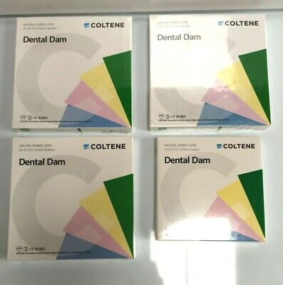 Coltene Dental Dam Natural Rubber Latex Different Sets