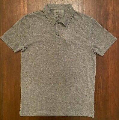 Sunspel Iffley Road Stanton Slim-Fit Mélange Tech Pique Polo Shirt Size S