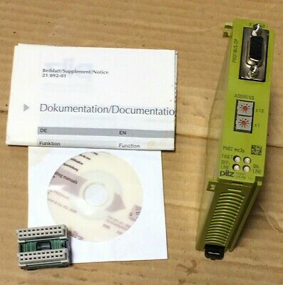Pilz 773721 Profibus-dp Pnoz Mc 3p Communication Interface