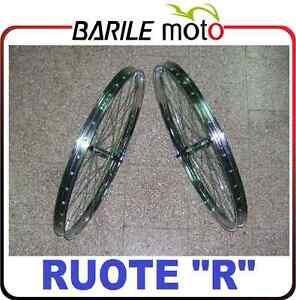 Coppia-Ruota-Cerchio-Anteriore-Posteriore-Bici-R-28-BACCHETTA-ACCIAIO