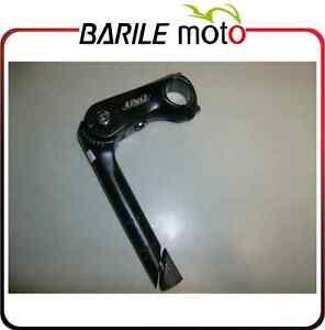 Attacco-Manubrio-Pipa-Piantone-Regolabile-Alluminio-Nero-City-22-2-x-90-mm