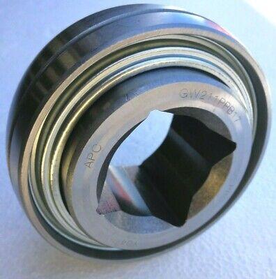 Premium Gw211ppb17 Ag Disc Harrow Bearing 1-12 Square Bore Triple Lip Seals