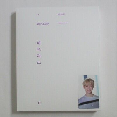BTS Official Memories Of 2017 DVD Full Package jimin Photocard + Free Expedited