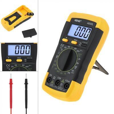 Lcd Digital Display Multimeter Voltmeter Acdc Ohmmeter Ammeter Ohm Tester Us
