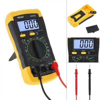 Digital Lcd Multimeter Ac Dc Voltage Current Tester Resistance Meter Voltmeter