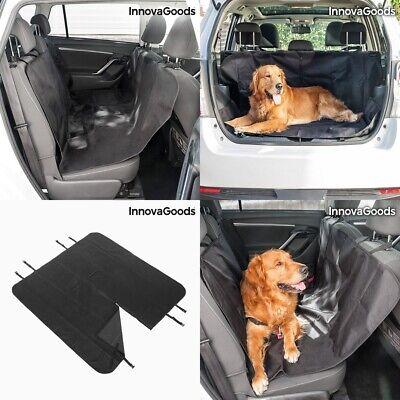 Funda Protectora de Coche para Mascotas (Perros) 140x120 cm, asiento o maletero