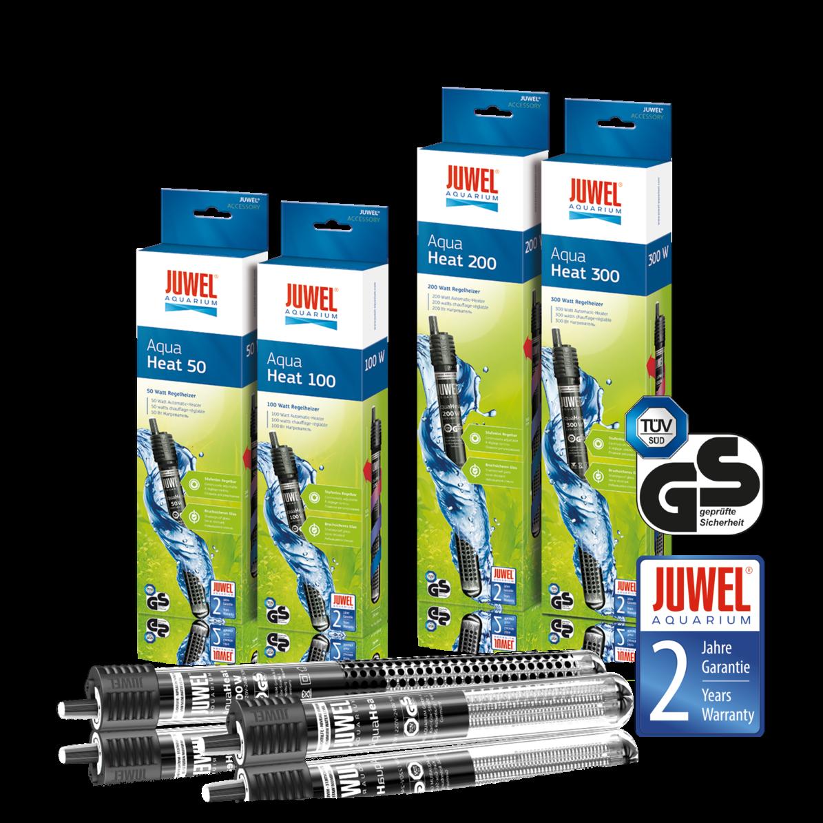 Juwel AquaHeat 200 Regelheizer 200W für Aquarien bis 150 Liter - Heizstab