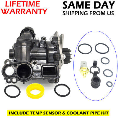 BRAND NEW WATER PUMP ASSEMBLY Fit For VW AUDI A4 A5 QUATTRO GOLF JETTA GTI US for sale  USA
