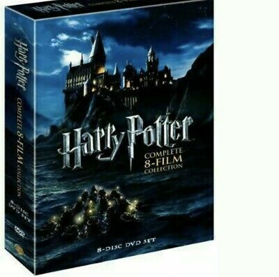 Harry Potter : The Complete 8-Film Collection ( DVD, 2011, 8-Disc Set )US Seller