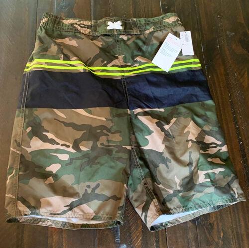 Old Navy Boys Camouflage Swim Suit Swim Trunks Size XL (14-16)  NWT